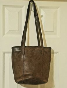 Vntg COACH Leather Legacy Lunch Tote Shopper